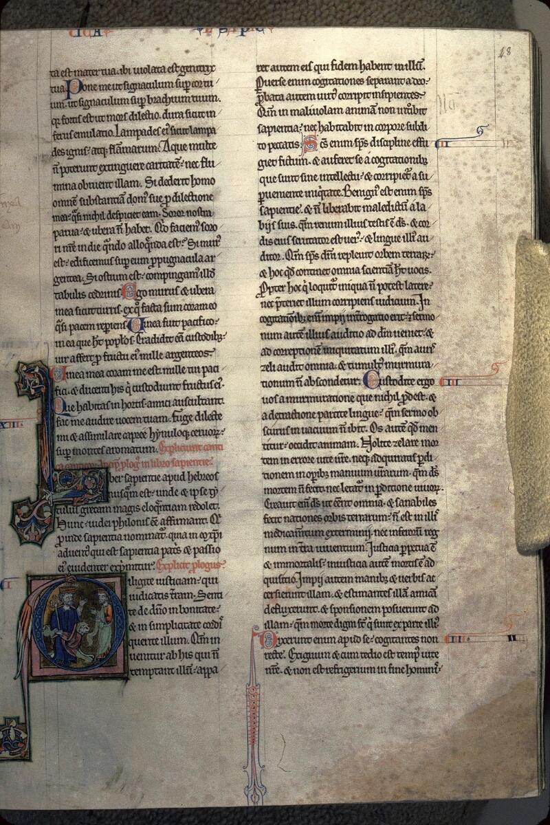 Avranches, Bibl. mun., ms. 0003, f. 048 - vue 1