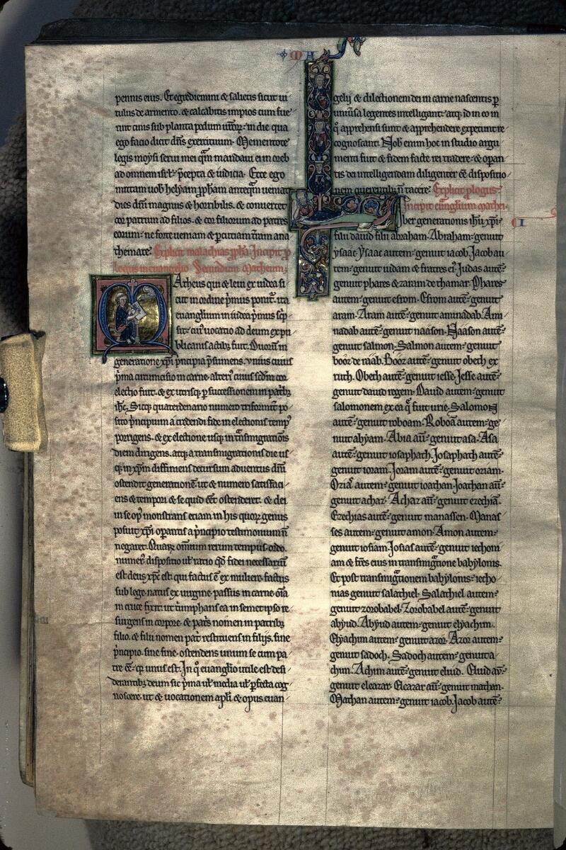 Avranches, Bibl. mun., ms. 0003, f. 198v - vue 1