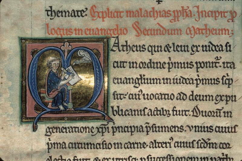 Avranches, Bibl. mun., ms. 0003, f. 198v - vue 2