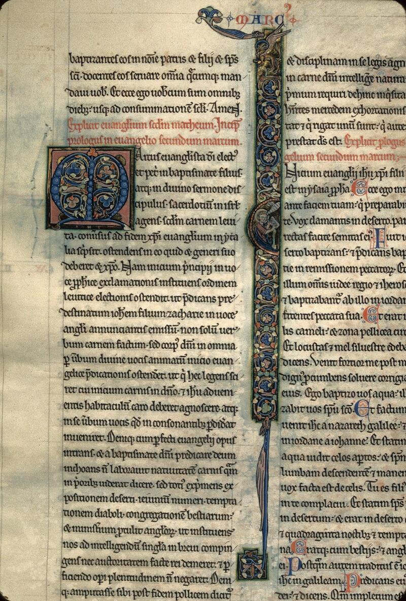 Avranches, Bibl. mun., ms. 0003, f. 213 - vue 1