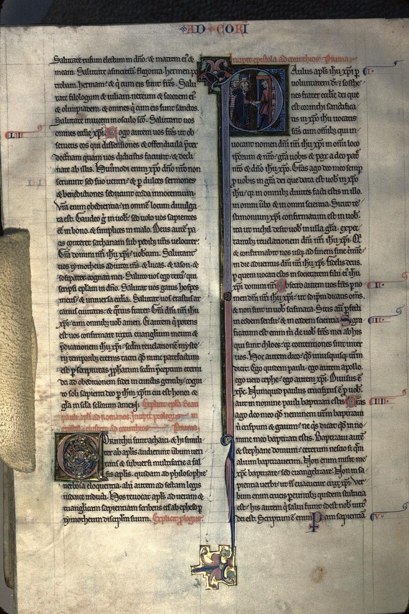 Avranches, Bibl. mun., ms. 0003, f. 274v - vue 1