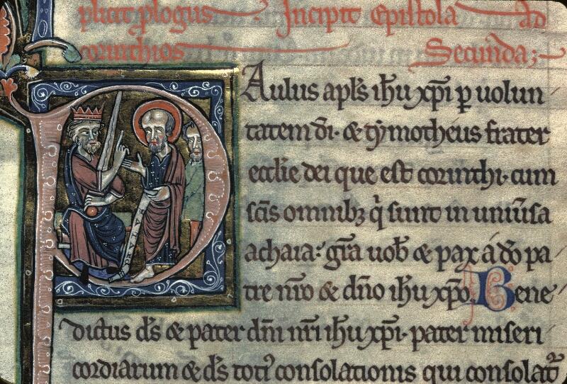 Avranches, Bibl. mun., ms. 0003, f. 280 - vue 1