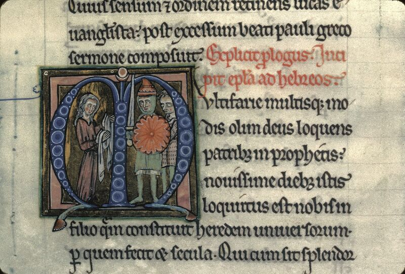 Avranches, Bibl. mun., ms. 0003, f. 296 - vue 2