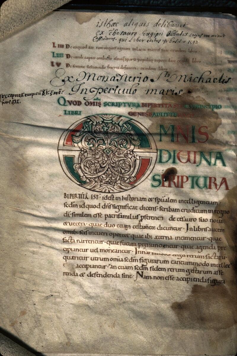 Avranches, Bibl. mun., ms. 0035, f. 075v - vue 1