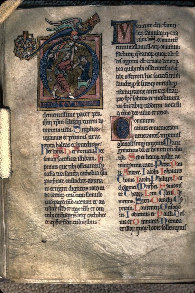Avranches, Bibl. mun., ms. 0042, f. 140v - vue 1