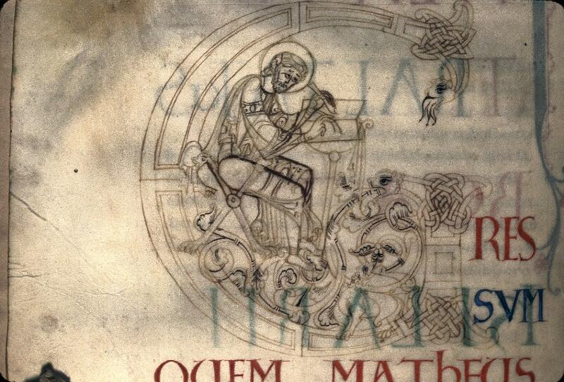 Avranches, Bibl. mun., ms. 0058, f. 003v - vue 2