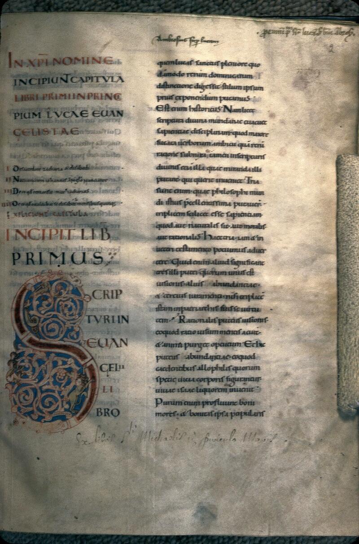 Avranches, Bibl. mun., ms. 0059, f. 002 - vue 1