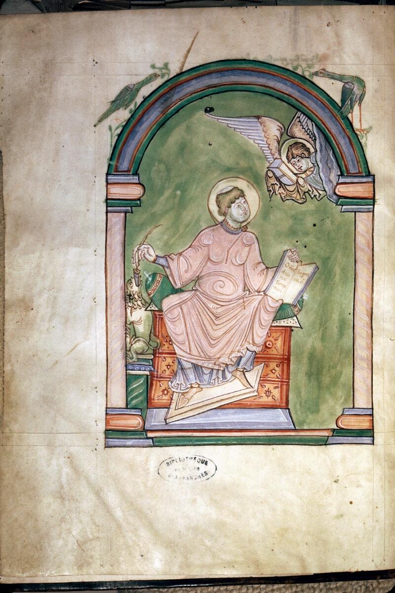 Avranches, Bibl. mun., ms. 0075, f. C v - vue 1