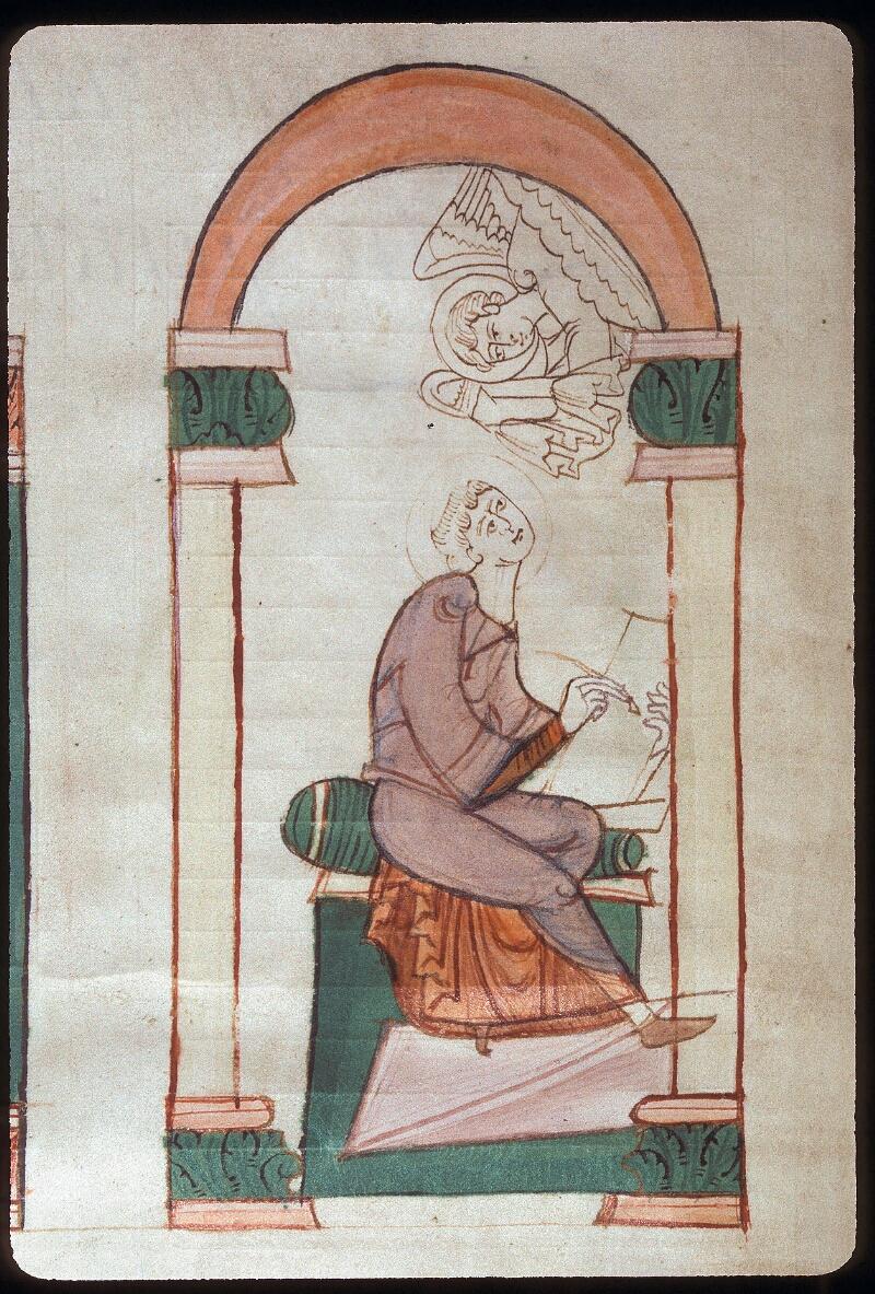 Avranches, Bibl. mun., ms. 0076, f. 000I - vue 3