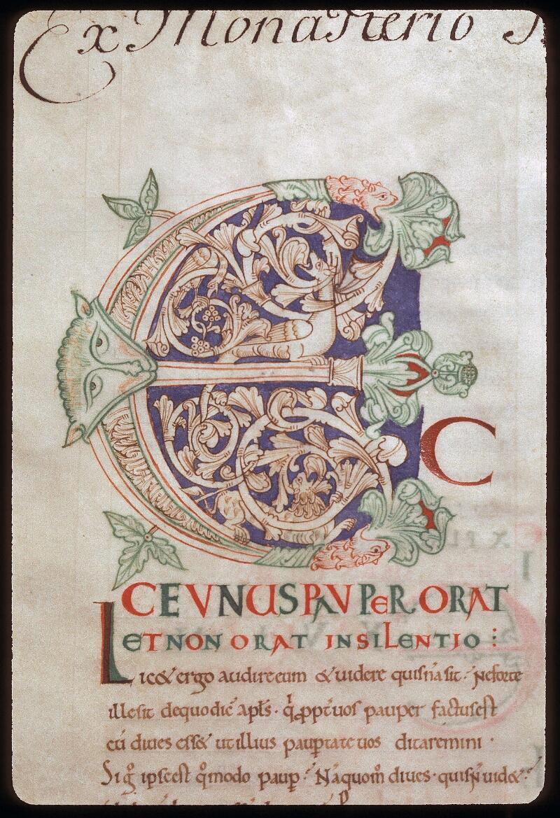 Avranches, Bibl. mun., ms. 0077, f. 002 - vue 2