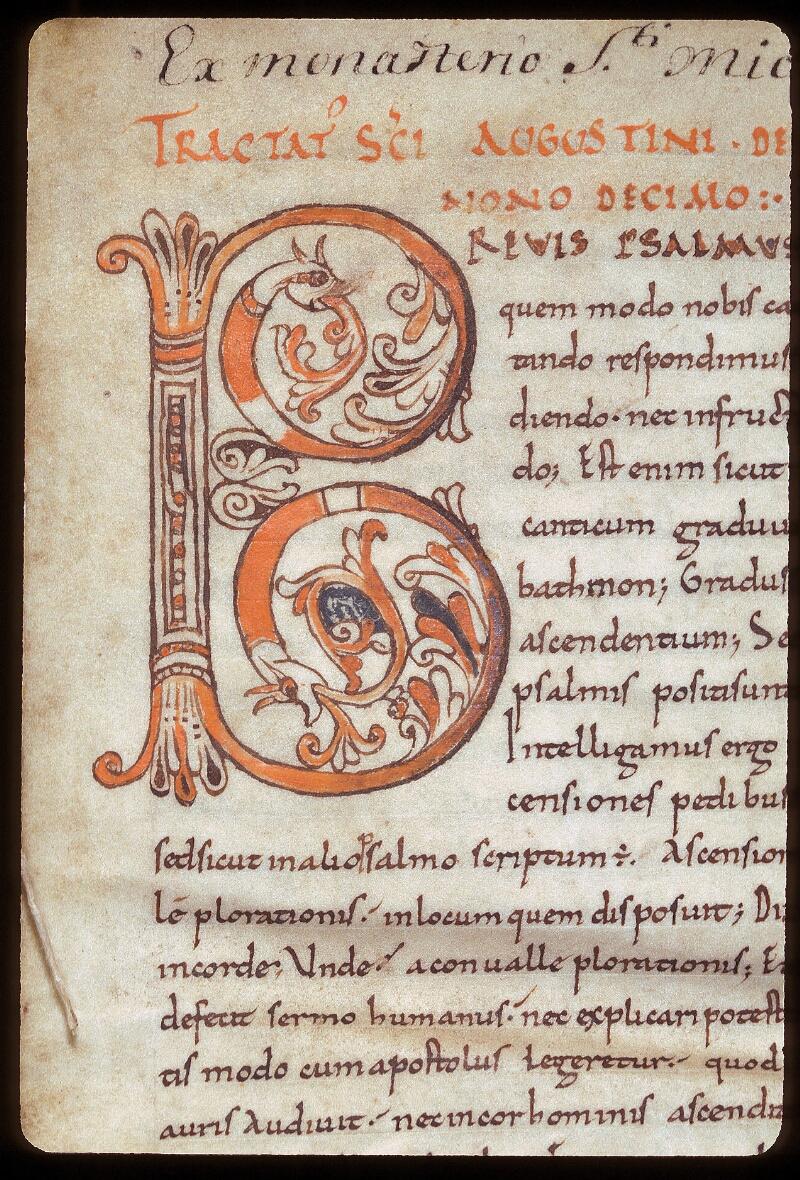 Avranches, Bibl. mun., ms. 0078, f. 001 - vue 2