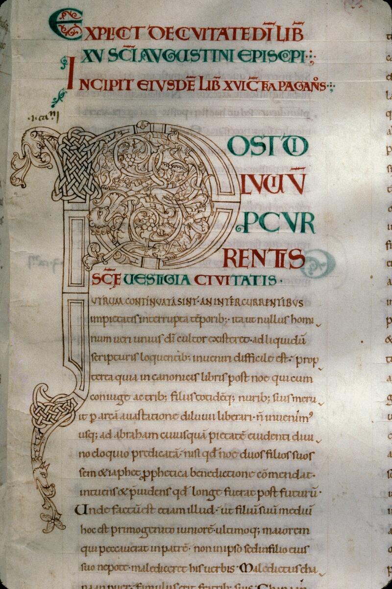 Avranches, Bibl. mun., ms. 0089, f. 122 - vue 2