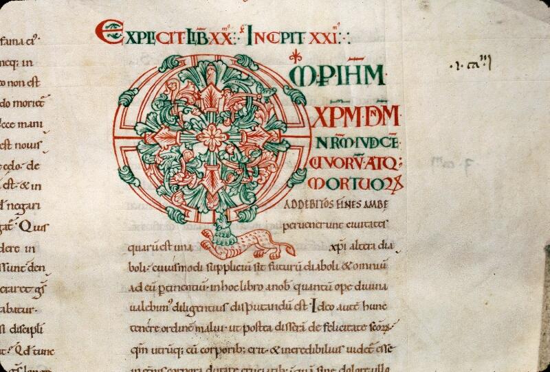 Avranches, Bibl. mun., ms. 0089, f. 180 - vue 2