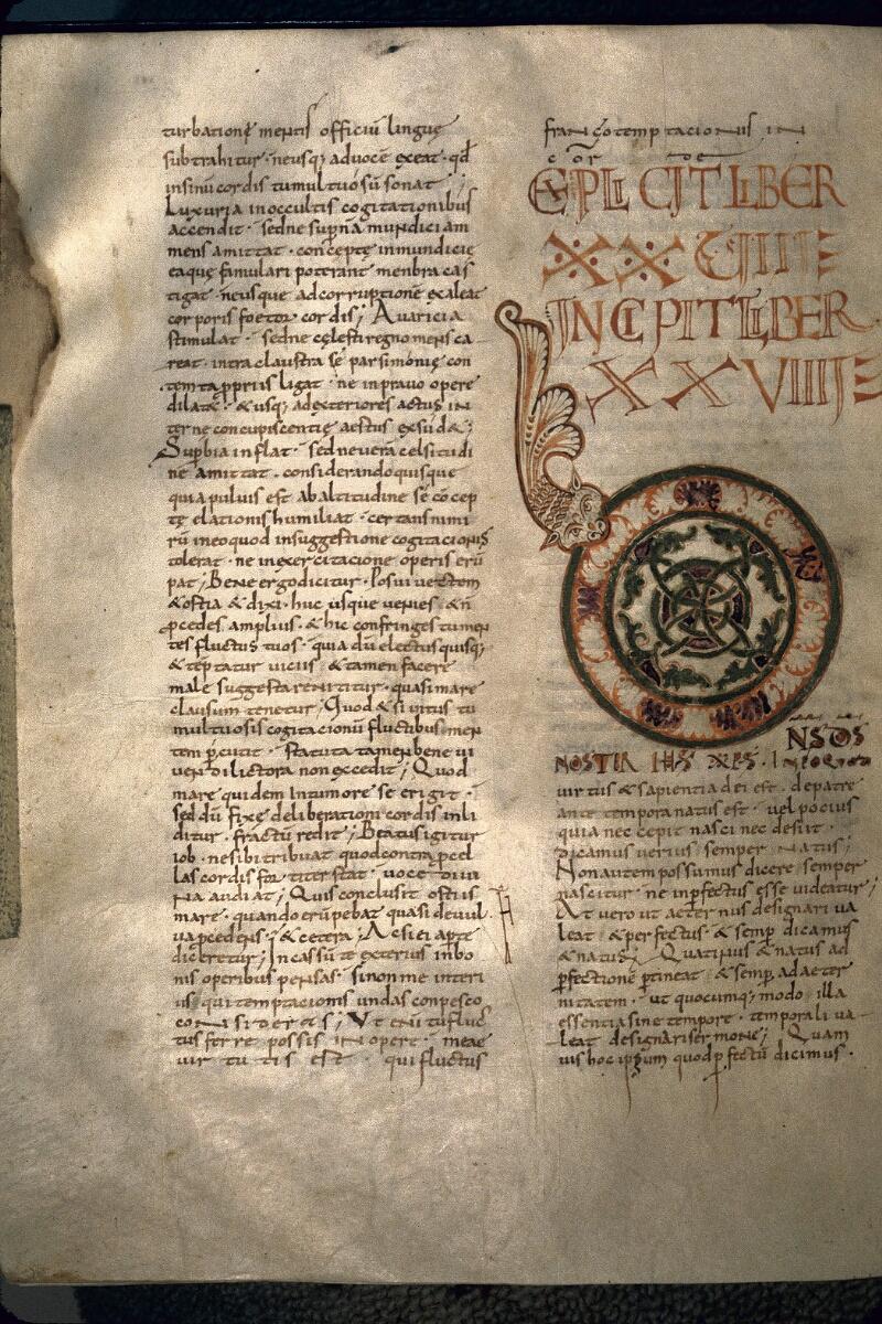 Avranches, Bibl. mun., ms. 0098, f. 143v - vue 1
