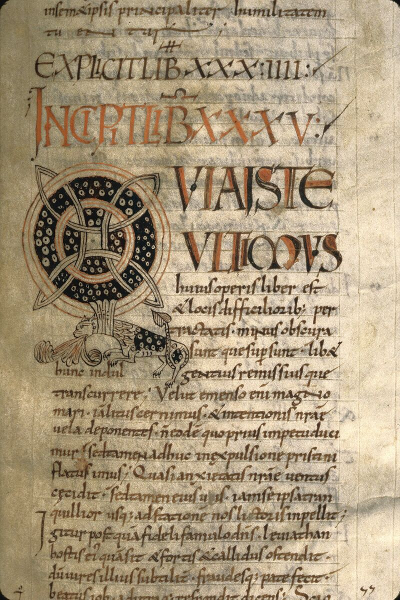 Avranches, Bibl. mun., ms. 0098, f. 218 - vue 2