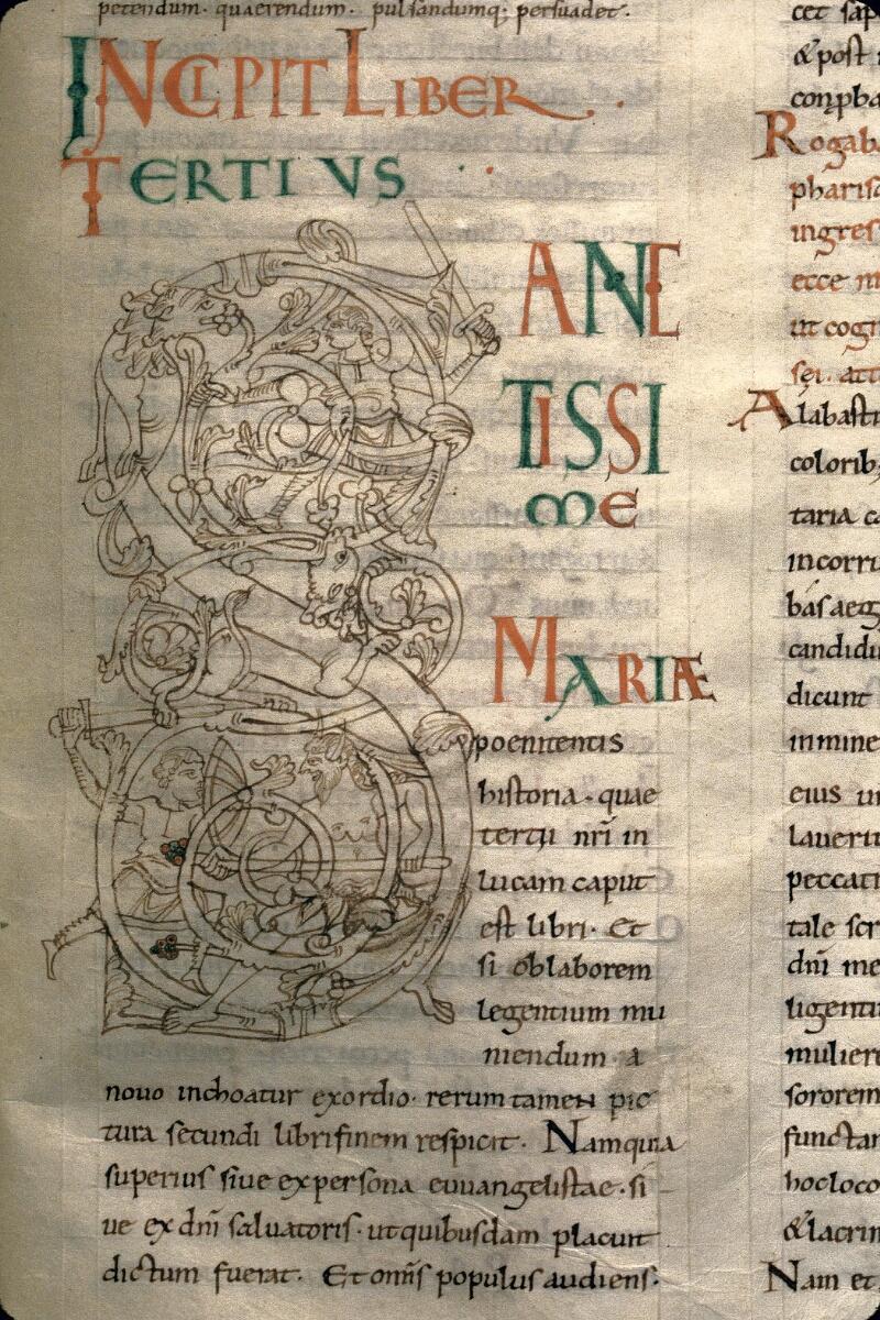 Avranches, Bibl. mun., ms. 0107, f. 112 - vue 2
