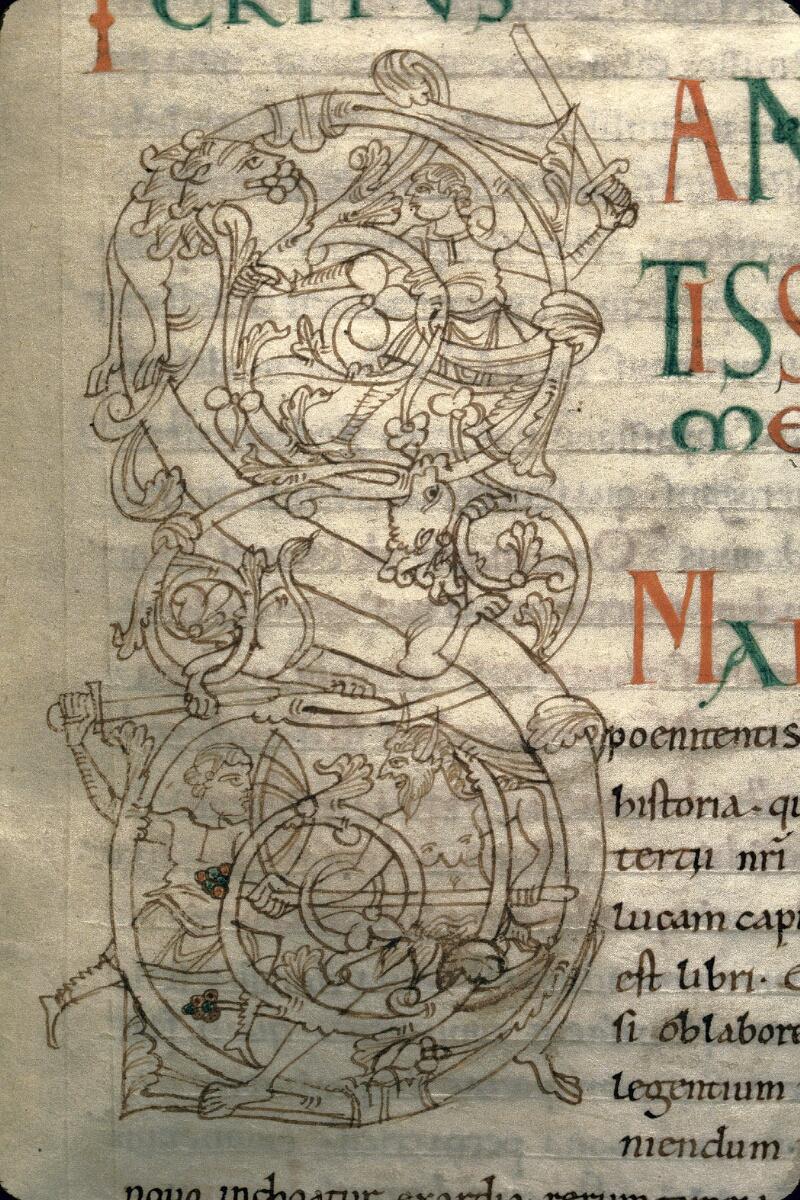 Avranches, Bibl. mun., ms. 0107, f. 112 - vue 3