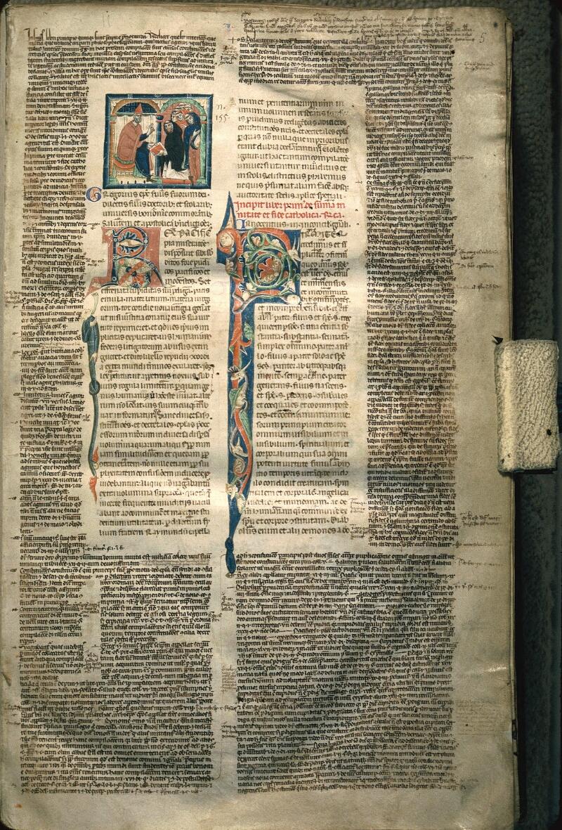 Avranches, Bibl. mun., ms. 0150, f. 005 - vue 1