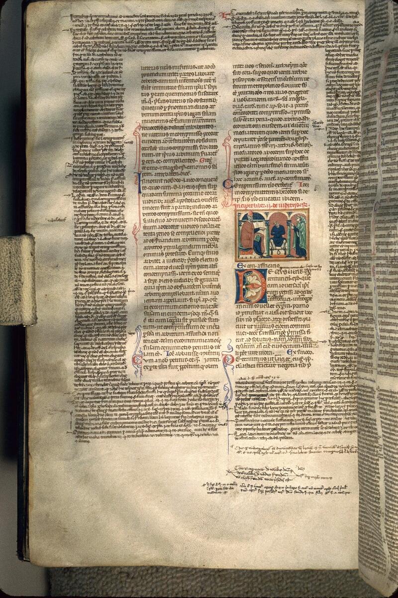 Avranches, Bibl. mun., ms. 0150, f. 061v - vue 1