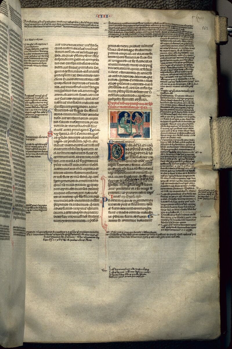 Avranches, Bibl. mun., ms. 0150, f. 162 - vue 1
