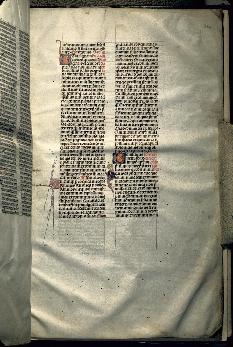 Avranches, Bibl. mun., ms. 0150, f. 264