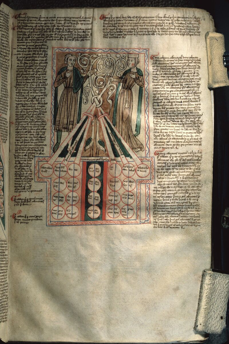 Avranches, Bibl. mun., ms. 0156, f. 014 - vue 1