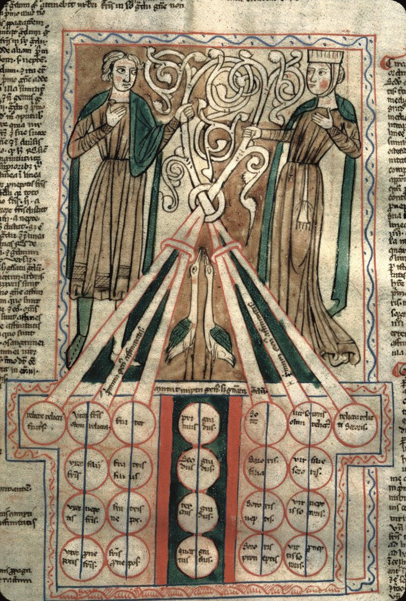 Avranches, Bibl. mun., ms. 0156, f. 014 - vue 2