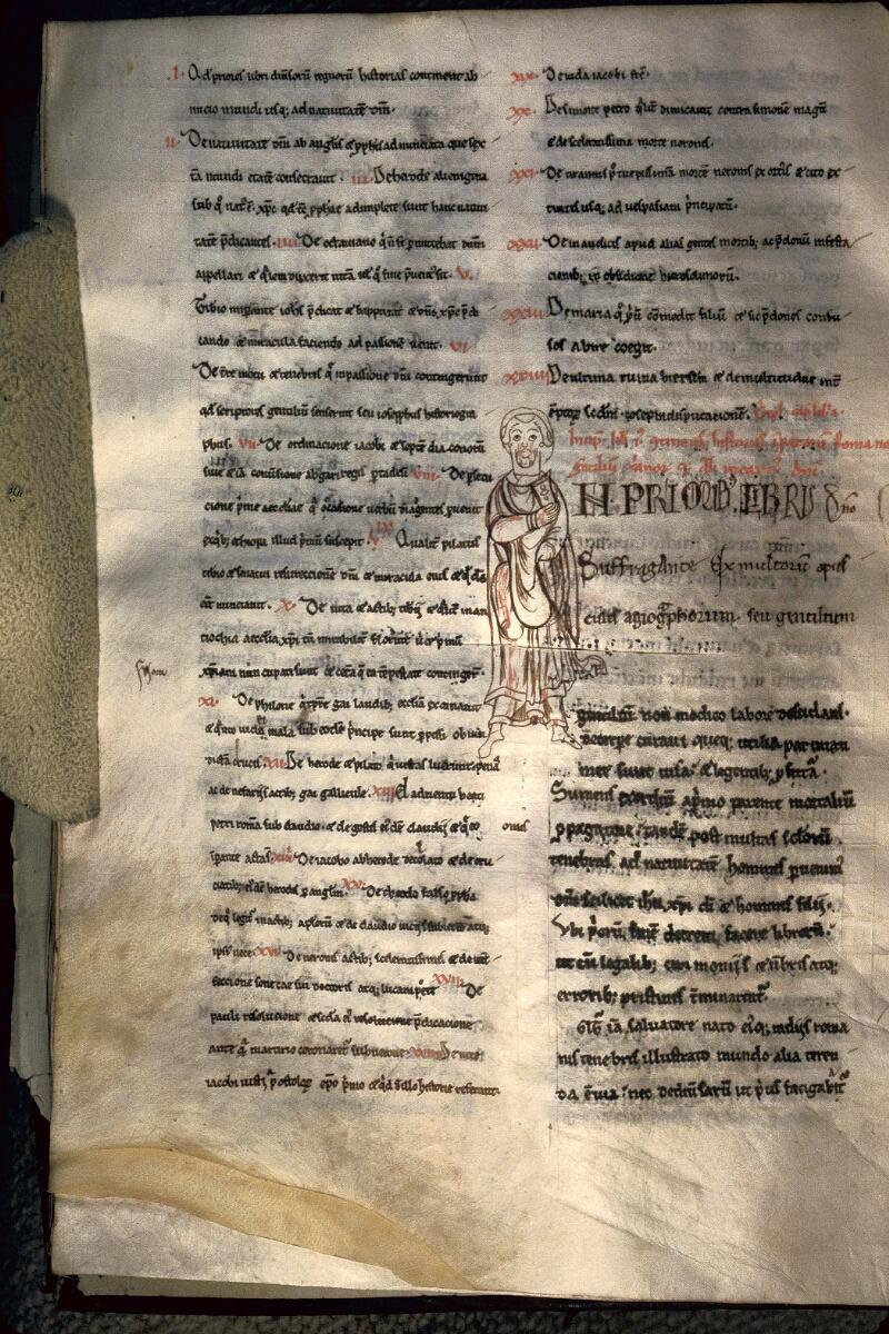 Avranches, Bibl. mun., ms. 0160, f. 092v - vue 1
