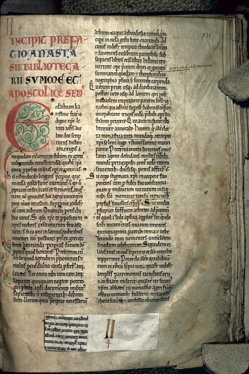 Avranches, Bibl. mun., ms. 0160, f. 135