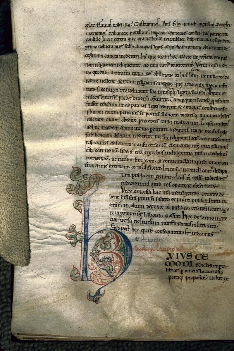 Avranches, Bibl. mun., ms. 0161, f. 136v
