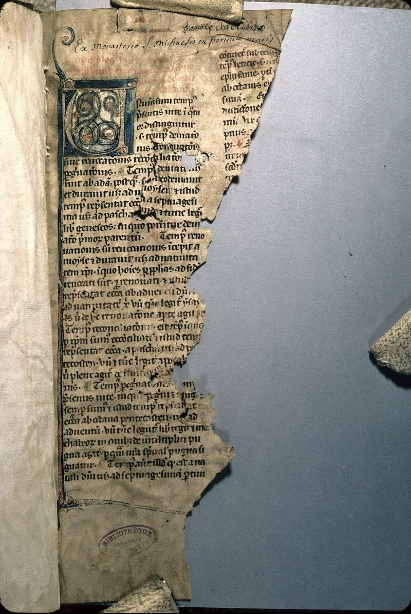 Avranches, Bibl. mun., ms. 0165, f. 001