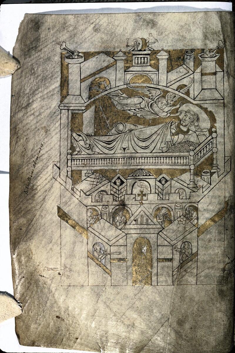 Avranches, Bibl. mun., ms. 0210, f. 004v - vue 1