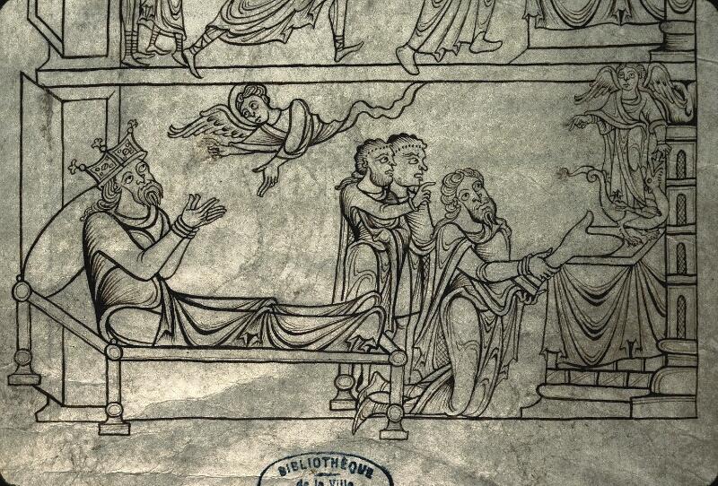 Avranches, Bibl. mun., ms. 0210, f. 025v - vue 5