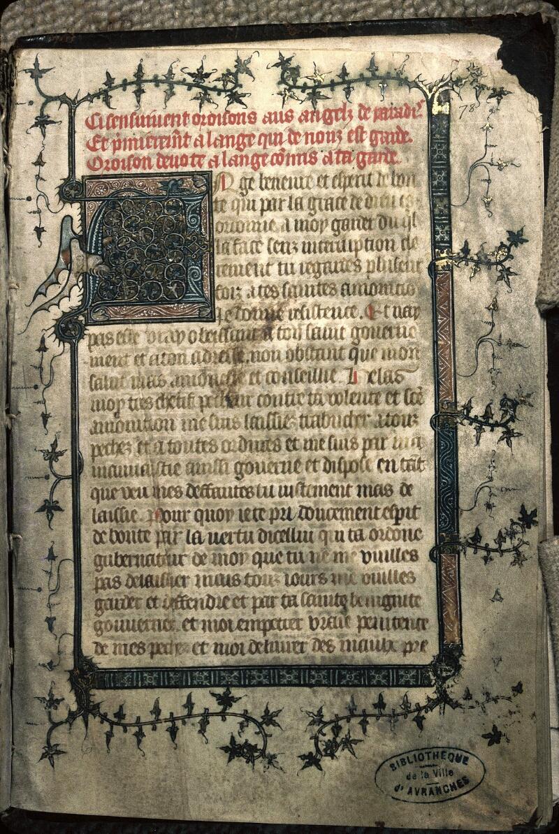 Avranches, Bibl. mun., ms. 0212, f. 078