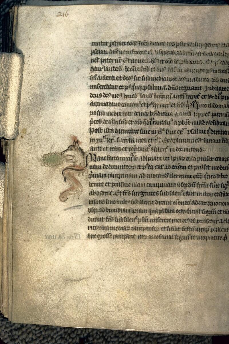 Avranches, Bibl. mun., ms. 0214, p. 216 - vue 1