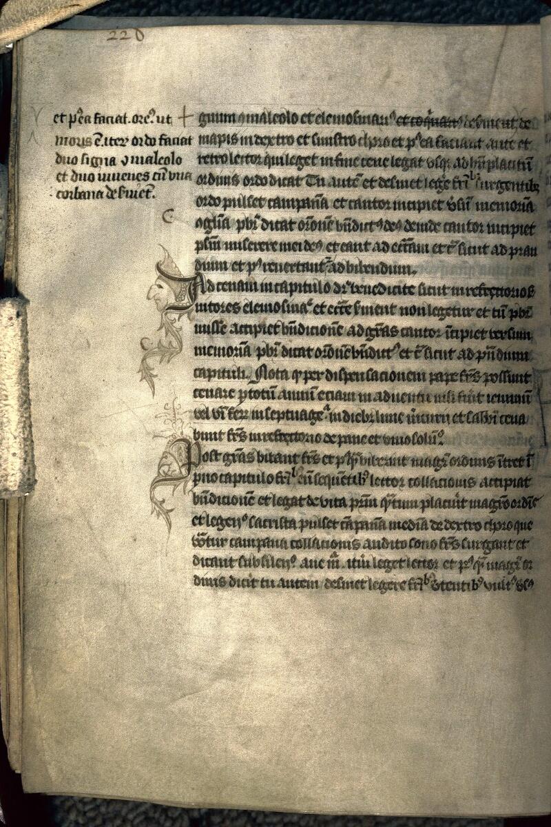 Avranches, Bibl. mun., ms. 0214, p. 228 - vue 1
