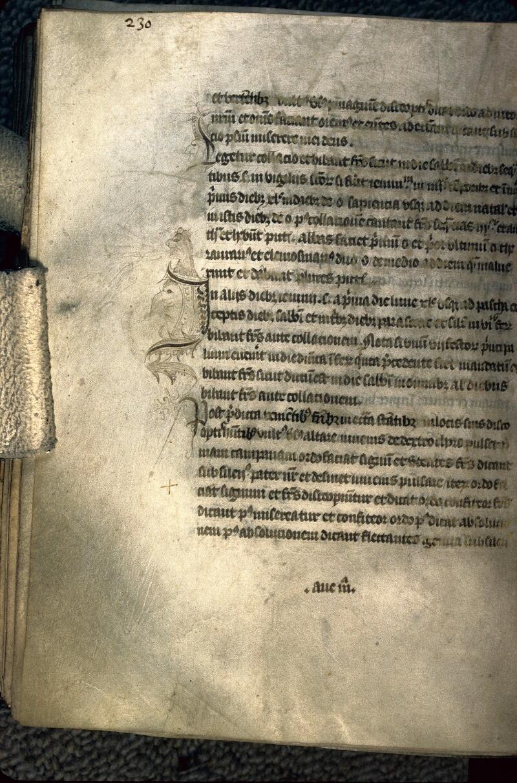 Avranches, Bibl. mun., ms. 0214, p. 230 - vue 1