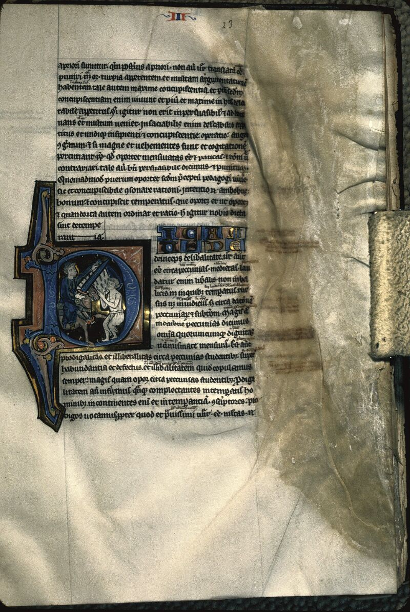 Avranches, Bibl. mun., ms. 0222, f. 023 - vue 1