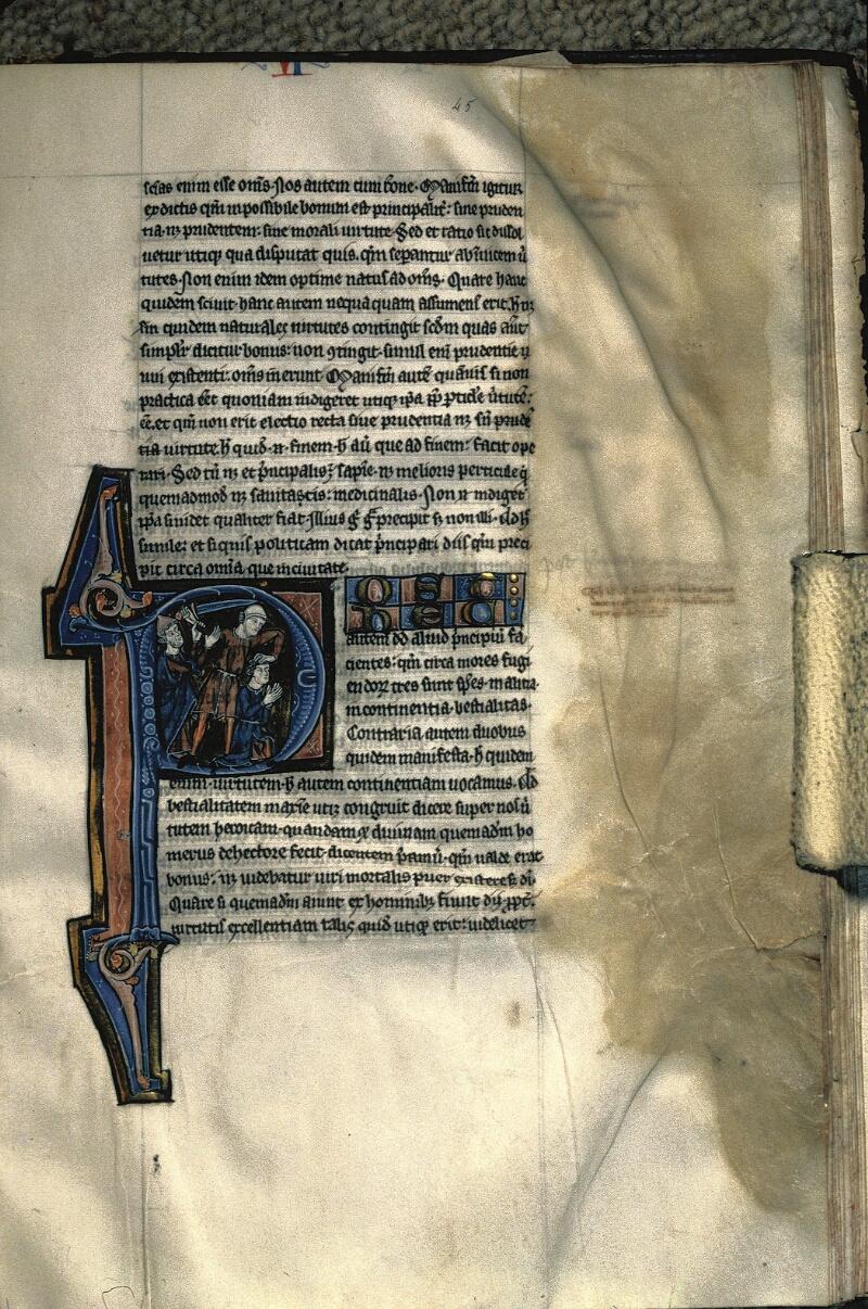 Avranches, Bibl. mun., ms. 0222, f. 045 - vue 1