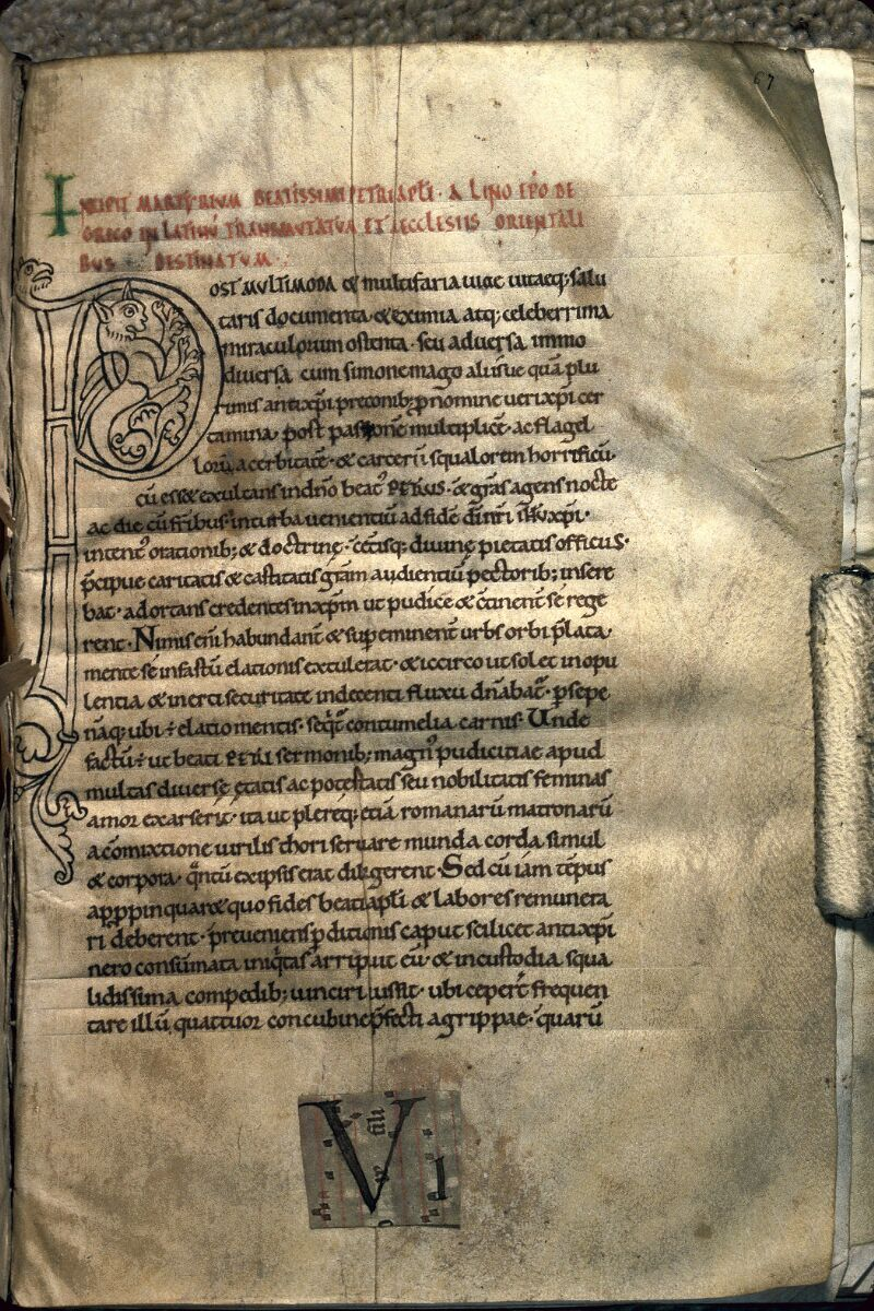 Avranches, Bibl. mun., ms. 0241, f. 067
