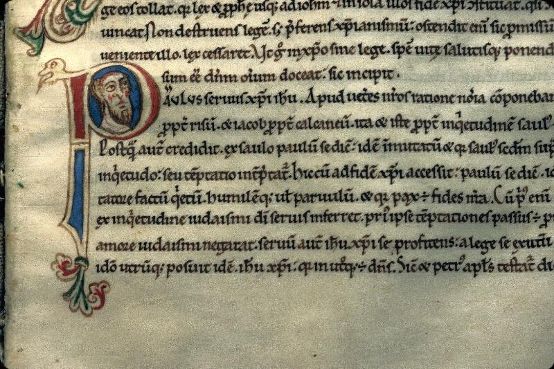 Avranches, Bibl. mun., ms. 0241, f. 129 - vue 3