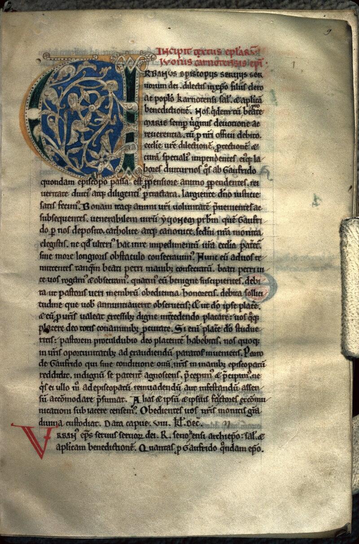 Avranches, Bibl. mun., ms. 0243, f. 009 - vue 1