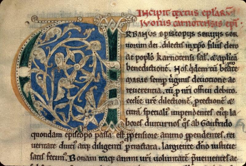 Avranches, Bibl. mun., ms. 0243, f. 009 - vue 2