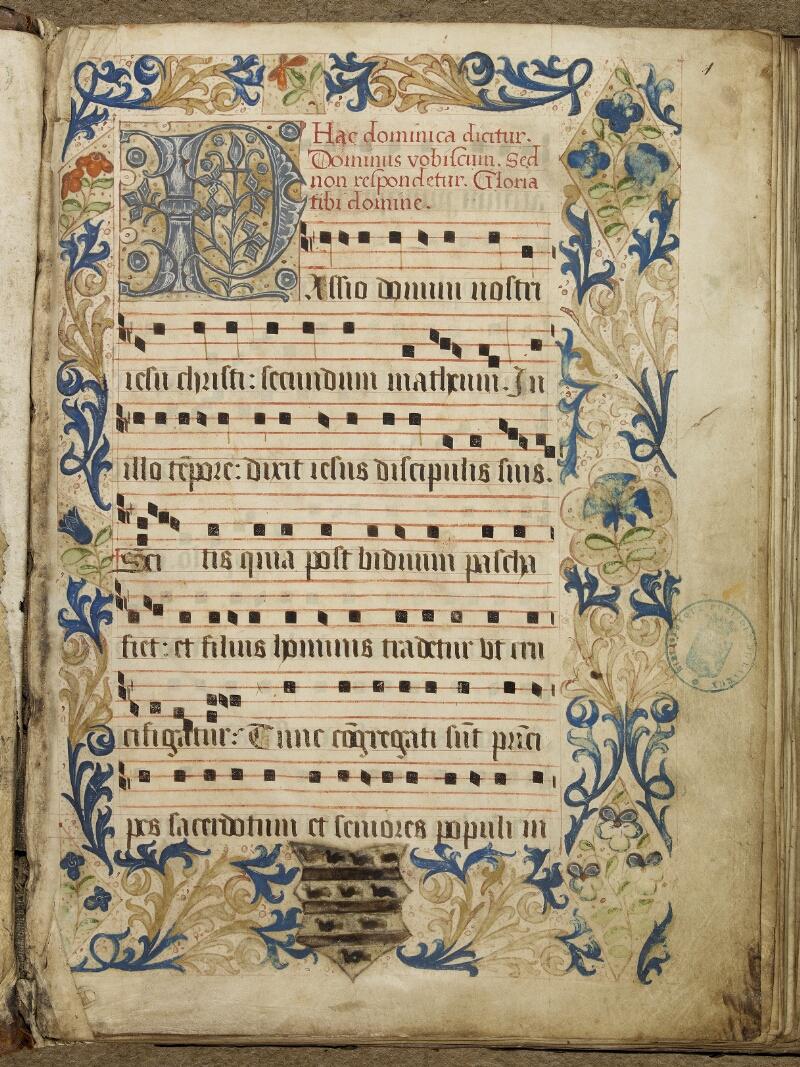 Bayeux, Bibl. mun., ms. 0008, f. 001 - vue 2