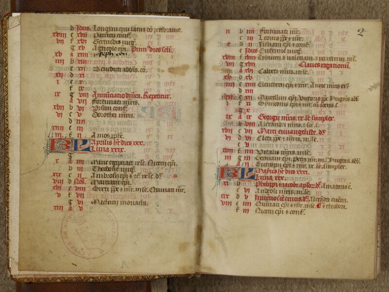 Bayeux, Bibl. mun., ms. 0058, f. 001v-002