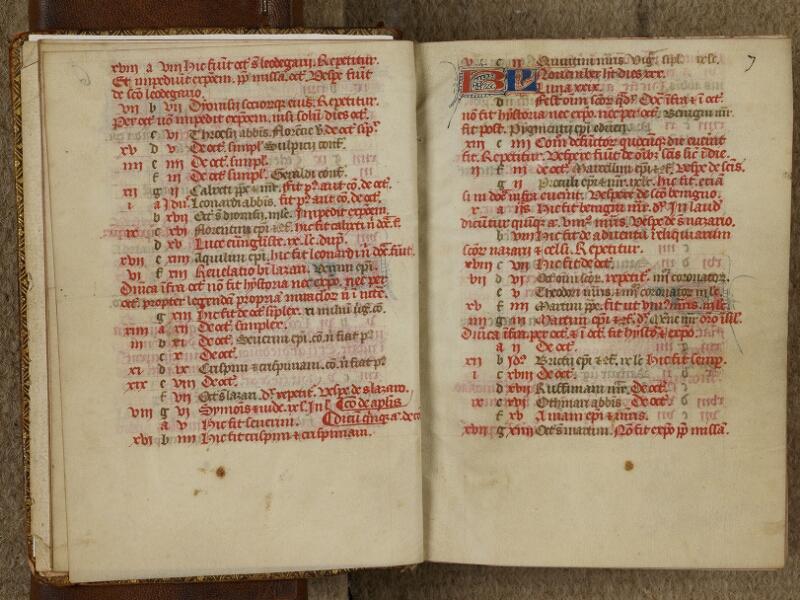 Bayeux, Bibl. mun., ms. 0058, f. 006v-007