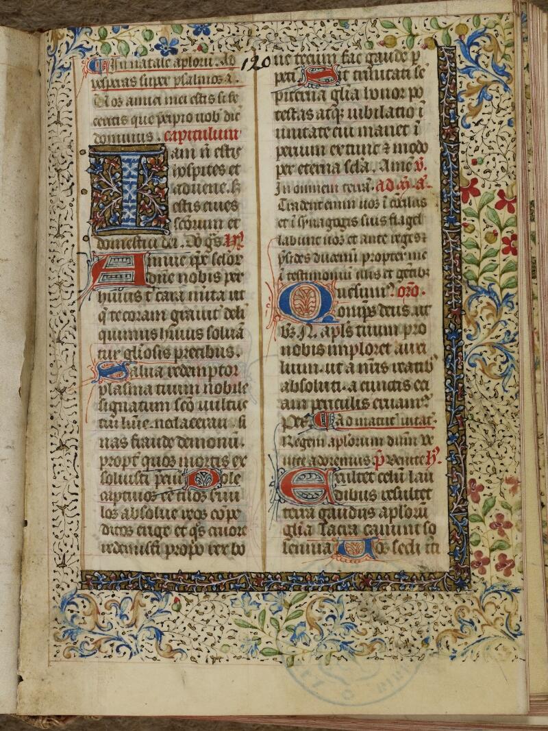 Bayeux, Bibl. mun., ms. 0058, f. 120