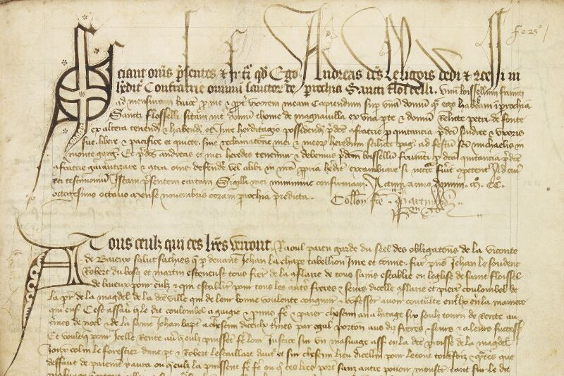 Bayeux, Bibl. mun., ms. 0005, B f. 025 - vue 2