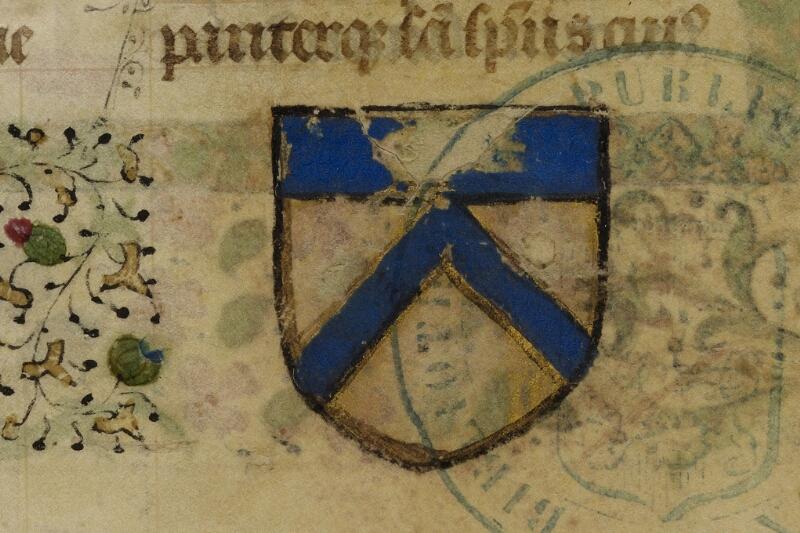 Bayeux, Bibl. mun., ms. 0058, f. 009 - vue 3