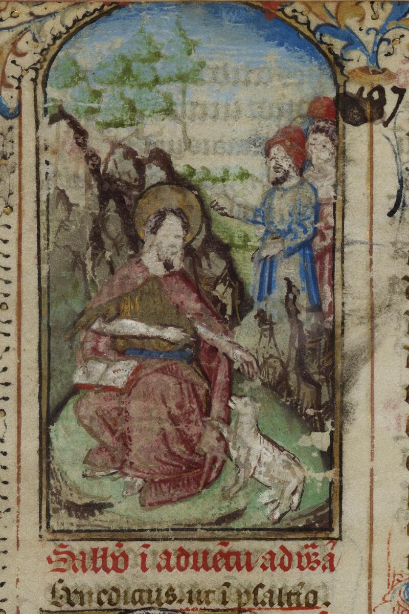 Bayeux, Bibl. mun., ms. 0058, f. 137 - vue 2